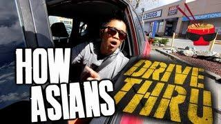 Asian Guy At The Drive-Thru Prank
