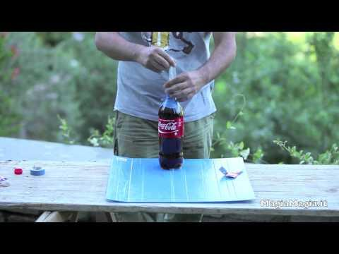 Coke And The Mentos Experiment Using A Condom