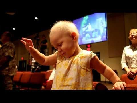 Cute - Baby Enjoys Church Music