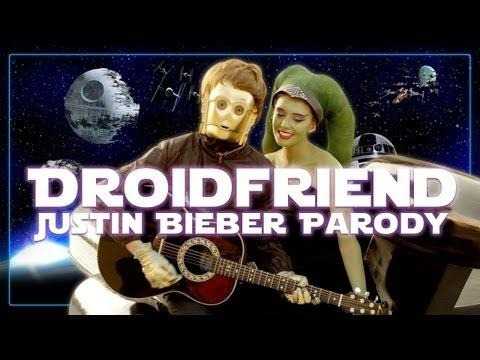 Parodies - Justin Bieber's Boyfriend Song Star Wars Parody
