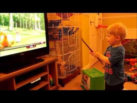 Kid Tricked Into Thinking He's A Wizard
