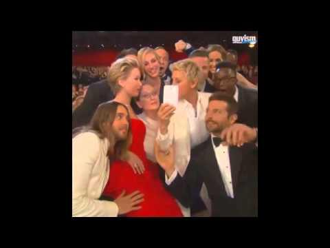 Funny Comment By Jennifer Lawrence During The Epic Selfie Shot At The Oscars