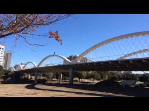 Crazy Matt Olson Riding His BMX Bike On The Bridge Arches