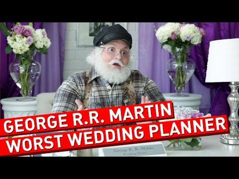 What Happens When George R.R. Martin Plans A Wedding