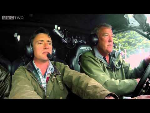 Jeremy Clarkson, James May, And Richard Hammond Test Drive The Hover Van