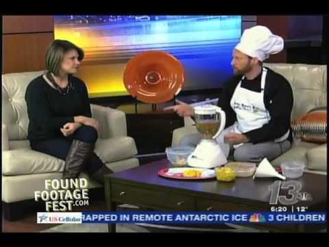 Funny Prank On TV Station By Fake Chef Keith Guerke