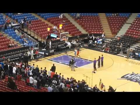 Kid Gets Revenge After Dwight Howard Blocks Him In A One On One Game
