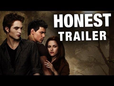 Jokes - Honest Twilight 2 New Moon Movie Trailer
