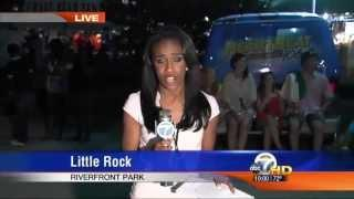 Kid Kisses The Reporter During Live News