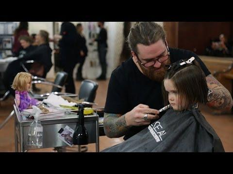 Cute 3 Years Old Girl Donates Her Hair To Charity