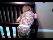 2 Year Old Kid's Attempt To Escape FAIL