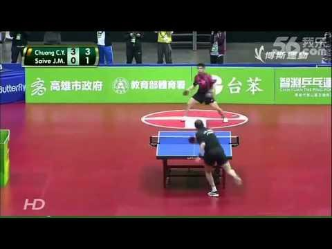 Funny Table Tennis Match