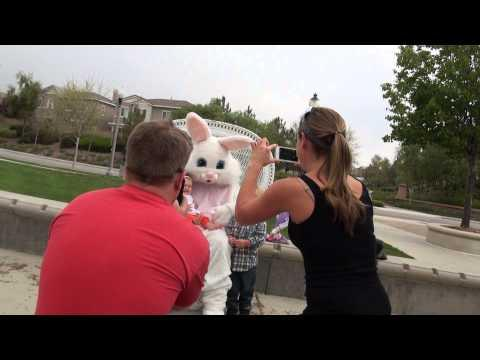 Easter Bunny Drops The Baby - FAIL
