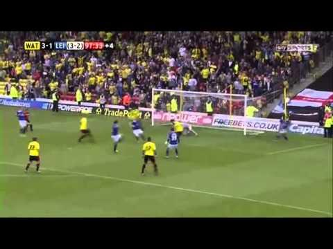 Amazing Goal By Watford In The Last Few Seconds In The Game Against Leeds