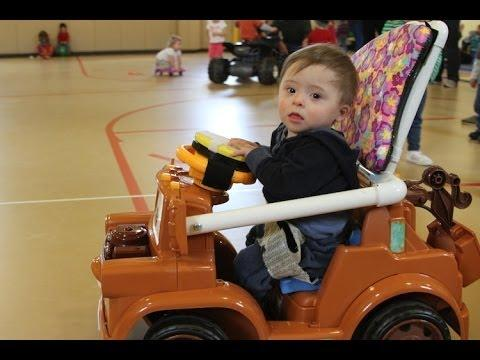 Awesome Doctor Modifies Toy Cars To Help Disabled Kids