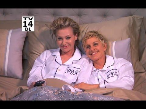 Ellen And Portia Get A Surprise Guest At Home