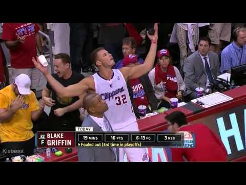 Blake Griffin Pisses Off Warriors Fan