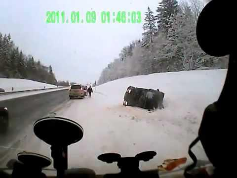 FAIL - Speeding Driver Flips The Car Upside Down