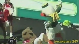 Funniest Mascot FAIL Compilation