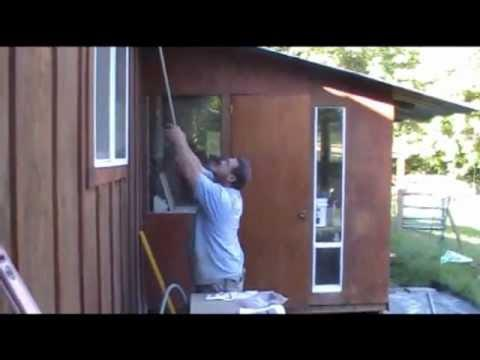 Guy Chooses The Wrong Way To Remove The Wasp Nest