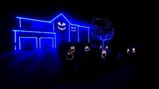 Halloween House Light Show 2013 Set To Ylvis' What Does The Fox Say