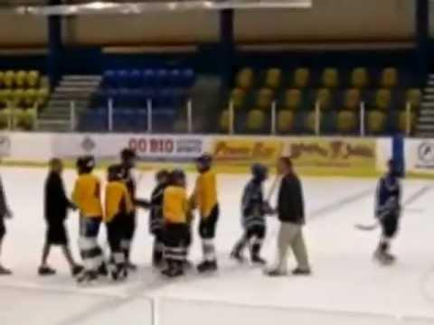 FAIL - Hockey Coach Sent To Jail For Tripping Player