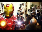 Wedding Ceremony Fight With Batman, Iron Man, And More