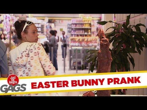 Chocolate Easter Bunny Prank