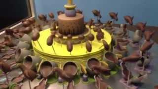 Spinning Chocolate Creates An Awesome Optical Illusion