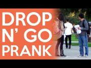 Pranks - Drop The Paper And Leave Prank