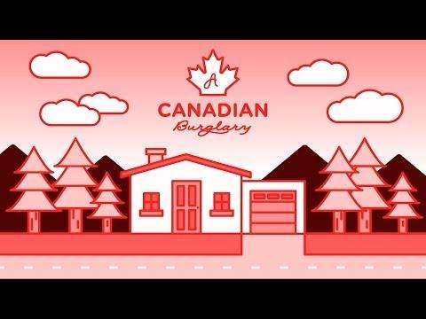 How Canadians Deal With Burglars