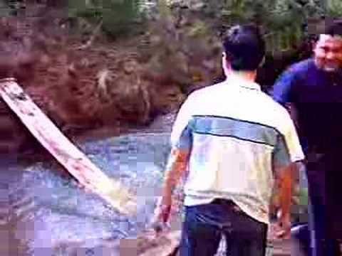 FAIL - Crossing the creek