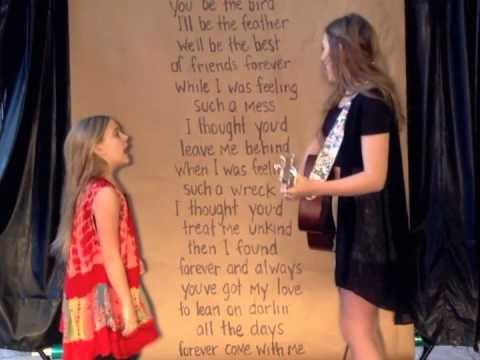 Edward Sharpe And The Magnetic Zeroes' That's What's Up Song Cover By Lennon And Maisy Stella