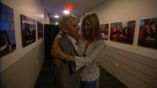 Jennifer Aniston Fails To Scare Ellen