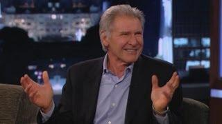 Harrison Ford Doesn't Like Chewbacca