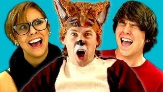 Funny Teens Reaction To Ylvis' What Does The Fox Say Song