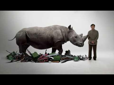 Stop Buying Products Made From Rhino Horns PSA Starring Jackie Chan