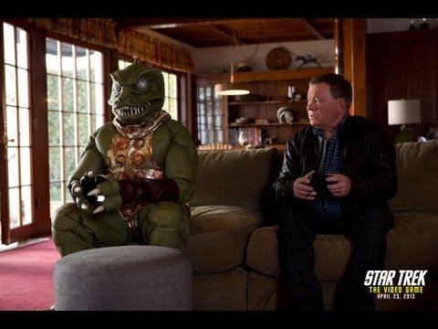 Jokes - William Shatner Tries To Fight Gorn