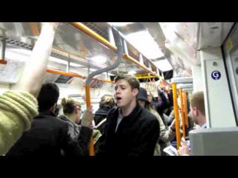 Cute - Flash Mob Wedding Proposal Inside A Subway
