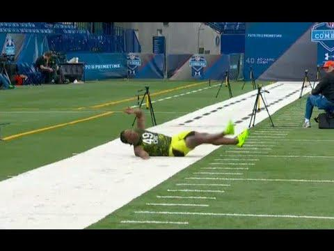 FAIL - Runner Shamarko Thomas Faceplants