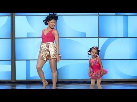 Heaven And Her Mom Perform On Ellen's Show