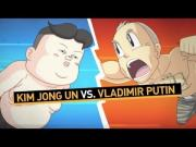 Vladimir Vs King Jong Un Fight Animated Short