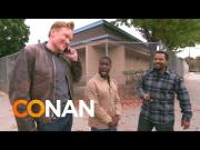 Conan O'Brien, Ice Cube, And Kevin Hart Go For A Car Ride