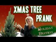 Fastest Growing Christmas Tree Prank