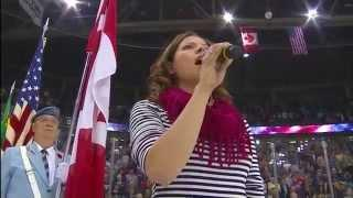 Alexis Normand's Cover Of National Anthem FAIL
