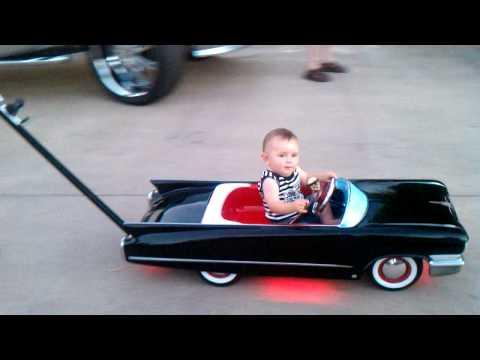 Jokes - Baby's Cadillac Car Stroller