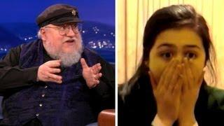 Game Of Thrones Author George R. R. Martin Watches Red Wedding Reactions