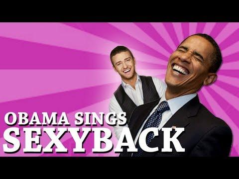 Parodies - Sexy Back Song Cover By Barack Obama