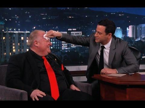 Toronto Mayor Rob Ford Gets Roasted On Jimmy Kimmel's Show - Part 2