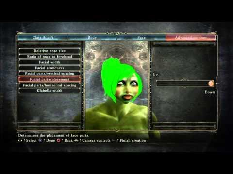 Guy's Funny Reaction While Creating A Character On Dark Souls 2 Game